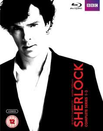 Sherlock Series 1-3 Box Set (Blu-ray) £17.99 @ BBC Shop