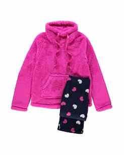 fleece pyjama sets down to £10 @ Asda george