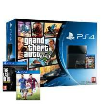 PS4 Console Inc GTA V + FIFA 15 + The Last of Us Remastered (All Physical Copies) £349.99 (Using Code: SPEND350) + Possible 3.67% (TCB) @ Shopto via Rakuten.co.uk
