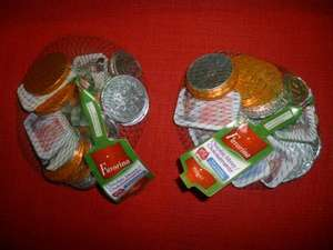 Net of chocolate money (coins / notes) ... 150g BOGOF @ Lidl! (50p per 150g net)