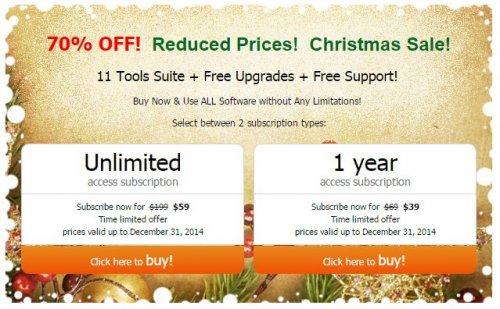 AVS4YOU Magical Christmas Offer - 70% off