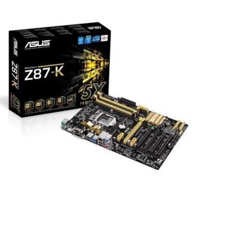Asus Z87-K intel motherboard ONLY (no I/O shield) £29.99 delivered @ eBay / Parts-4PCs