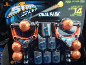 Air storm zing shot dual pack £8.99 @ Toys R Us