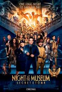 Autism friendly showing of Night At the Museum - Secret of the Tomb @ Cineworld