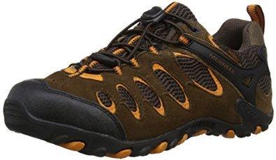 Merrell Mens Vista Ventilator Stretch Waterproof Trekking and Hiking Shoes on Amazon UK for £42.50