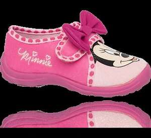 Girls Minnie Mouse Full Slipper - £3.49 Delivered @ Deichmann