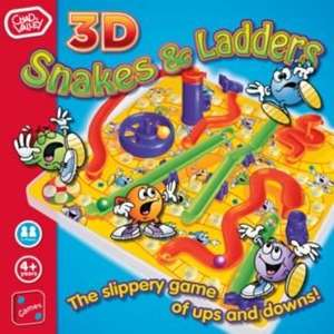 Chad Valley 3D Snakes and Ladders £2.49 Free C+C at Argos / Ebay