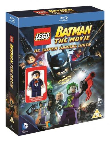 LEGO Batman: The Movie - DC Super Heroes Unite - With Clark Kent Mini-Figure (Blu-Ray) £7.99 Delivered @ TheEntertainmentStore Via eBay