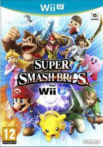 Super Smash Bros. for the Wii U at Game just £29.99 (today only!)
