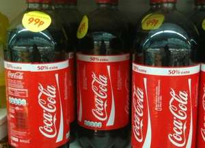 Coke 3L bottle only £0.99 in the Worldwide Foods superstore ,in Manchester