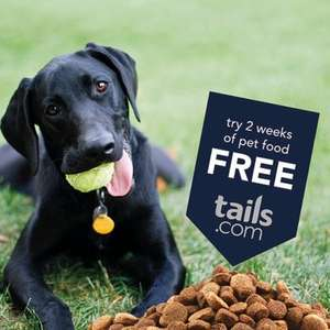 Get your tailor-made pet food for free plus £1 delivery @ Tails.com with O2 Priority Moments (new customers)