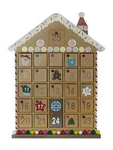 House Of Fraser Gingerbread Advent House by Linear, was £50, now £15