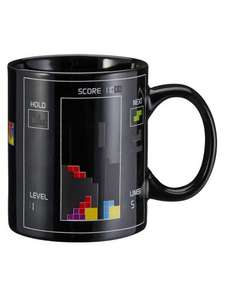 TETRIS HEAT CHANGE MUG £4 @ BURTONS half price & free click and collect