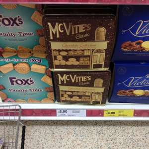 McVities classic chocolate collection tin RTC @ Tesco £2.50