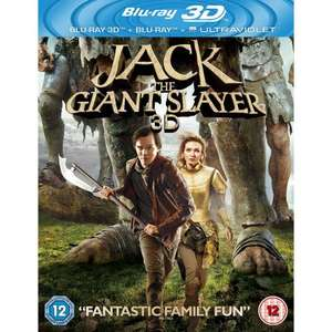 Jack The Giant Slayer [Blu-ray 3D + Blu-ray + UV Copy] [2013] [Region Free] - £9 @ Amazon (Free delivery with prime/£10 spend)