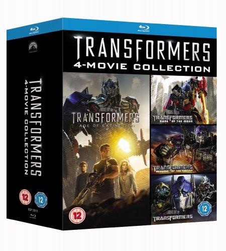 Transformers 1-4 Box Set [Blu-ray] @ Amazon.co.uk £25