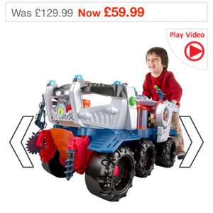 Smyths Fisher Price Imaginext Supernova Battlerover £59.99