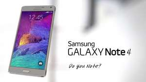 Samsung Galaxy Note 4 - Unltd mins, texts & 1GB data - £28pm - £99 upfront @ mobiles.co.uk. £711 with quidco and voucher Possible