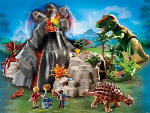 Playmobil Dinosaurs T-Rex with Volcano £29.99 @ Amazon
