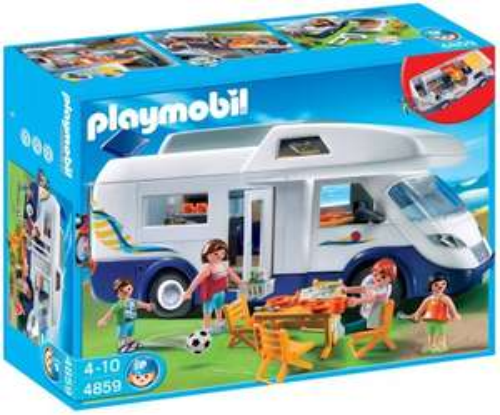 Playmobil Summer Fun 4859 Family Camper - £26.67 Amazon