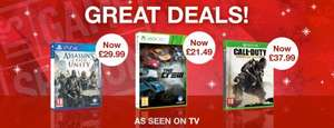***FROM TOMORROW*** Assassins Creed Unity PS4 & Xbox One £29.99 @ Game