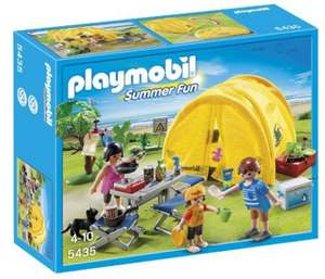 Playmobil Summer Fun 5435 Family with Camping Tent  From Amazon @ £8.86