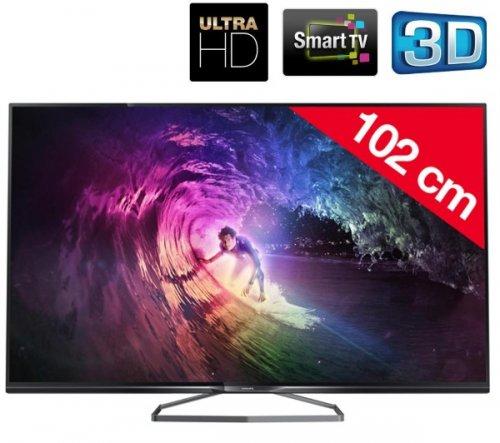 """Pixmania PHILIPS 40PUK6809 - 40"""" 4k Ultra HD 3D LED Smart TV £429"""