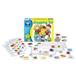 Orchard Toys Shopping List Game £3.75 Add on item at Amazon