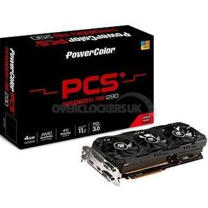 Powercolor Radeon R9 290 PCS+ OC 4096MB GDDR5(THIS WEEK ONLY!!!!) £199.99 @ Overclockers