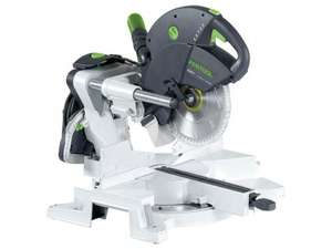 Festool Sliding compound mitre saw KS 88 UG-Set GB 240V KAPEX £719.00 @ Folkestone Fixings