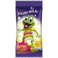 8 popping candy Freddo frogs £1 at Farmfoods