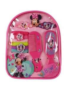 Minnie Mouse Hair Accessories Backpack £3 @ Peacocks