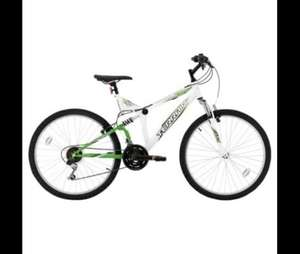 "Terrain Matterhorn 26"" Unisex Dual Suspension Mountain Bike  £67.50 + free standard delivery  @ tesco direct"