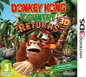 Donkey Kong Country Returns 3D - Nintendo 3DS - £14.99 @ GAME.co.uk