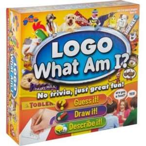 Logo - What am I? Board Game @ Argos £9.99