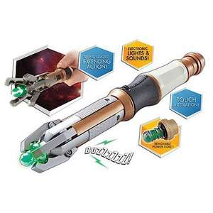 Doctor Who 12th Doctor's Touch Control Sonic Screwdriver £10 @ Amazon