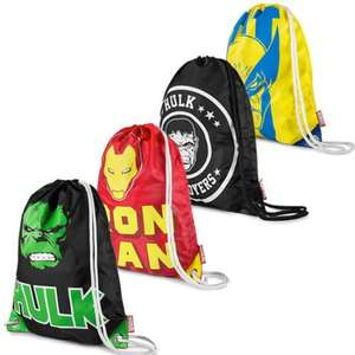 Addict Marvel Comics Superhero Drawstring Bag £4.99 + 99p P&P @ Ebay Daily Deal blue-thirteen