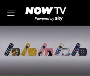 Limited now tv boxes £9.98 @ NowTV