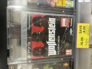 Wolfenstein the new order xbox 360 and playstation 3 £16 @ Tesco