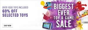 Argos  up to 60% off selected toys - Toy and game Sale