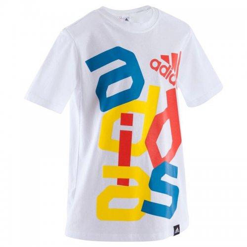 ADIDAS Adidas boys' cotton T-shirt £6.99 @ Decathlon