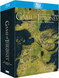 GAME OF THRONES - SEASONS 1-3 BLU-RAY @ The Hut £39.99