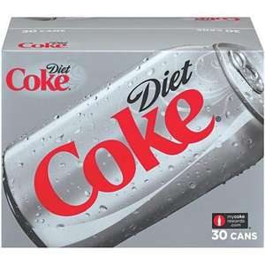 30 pack Diet Coke £5.98 @ Costco, less than 20p per can