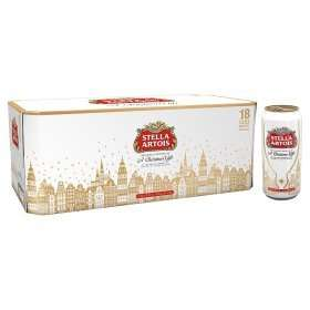 18*440ml 4.8% cans of Stella for £12 or 3*10 for £20 in-store Asda