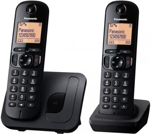 PANASONIC KX-TGC212EB Cordless Phone - Twin Handsets £29.99 @ currys was £44.99