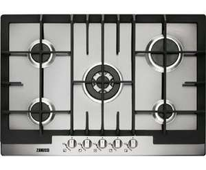 Zanussi ZGG76524XA Built In Gas Hob - Stainless Steel  £250 SAVE £15 Was £265 @ AO.COM