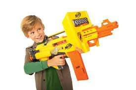 Nerf N-Strike Stampede Gun £35 delivered using code @ The Works + Possible 21% Quidco