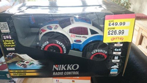 Nikko Vaporizr radio controlled car £26.99 @ smythstoys