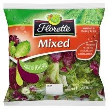 Florette Mixed Salad 200G SAVE 38p Was £1.38 Now £1.00 @ Tesco