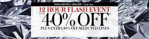 House of Fraser 12 Hour Flash Sale - Extra 10% off selected lines